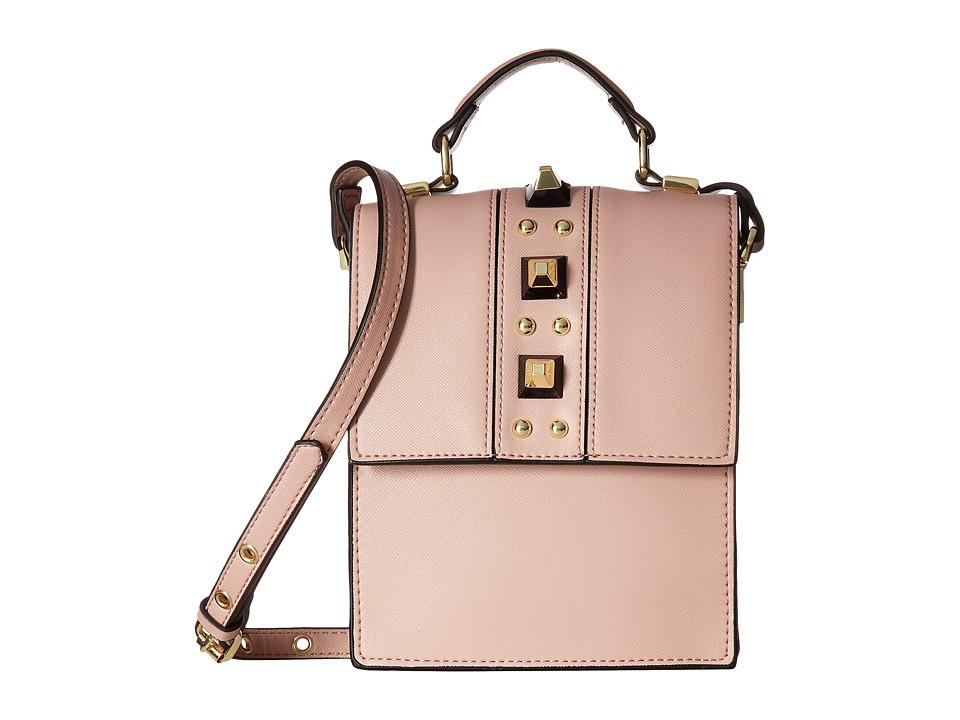 Steve Madden - Bjudy Stud Crossbody (Blush) Cross Body Handbags