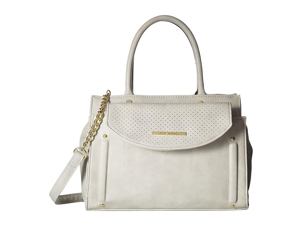 Steve Madden - Blianie Satchel (Light Grey) Satchel Handbags