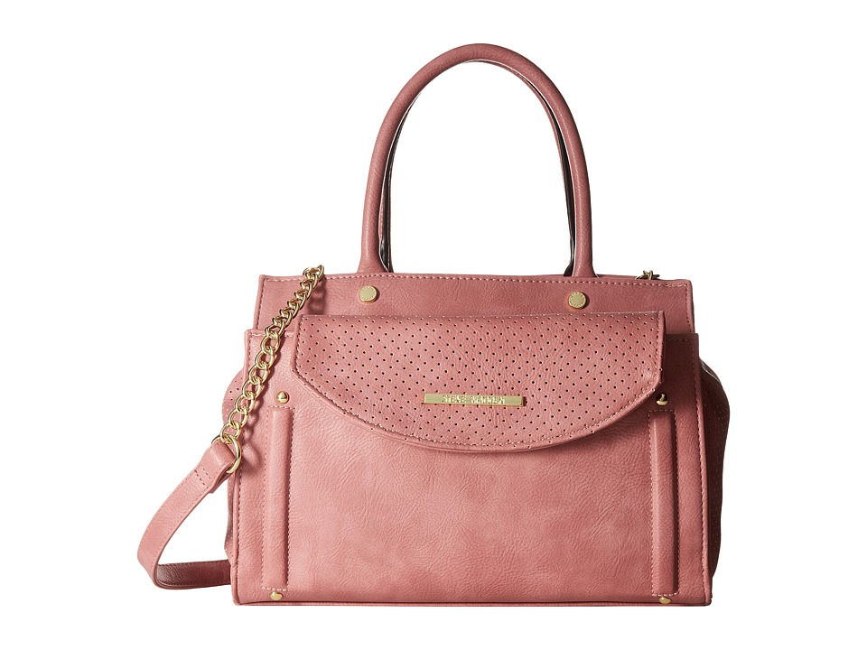 Steve Madden - Blianie Satchel (Rose) Satchel Handbags