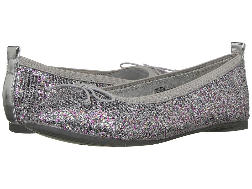 Kenneth Cole Reaction Kids Copy Tap (Little Kid/Big Kid) (Silver Multi) Girls Shoes