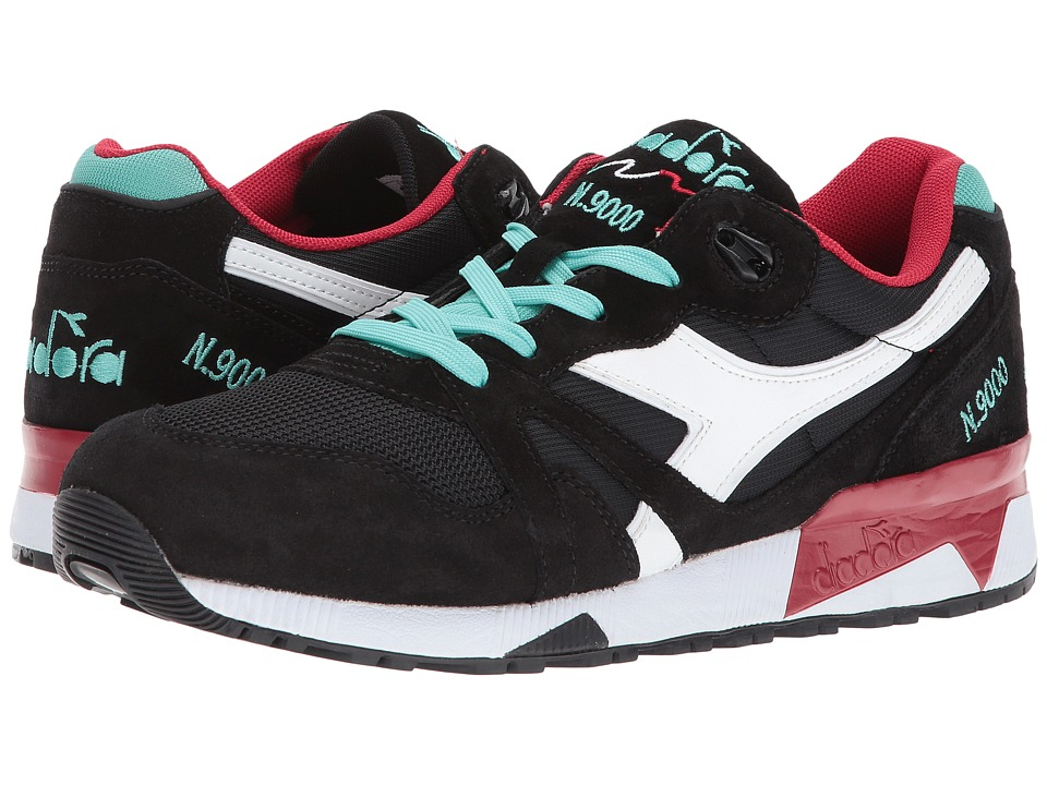 Diadora N9000 III (Black/Vanilla) Athletic Shoes