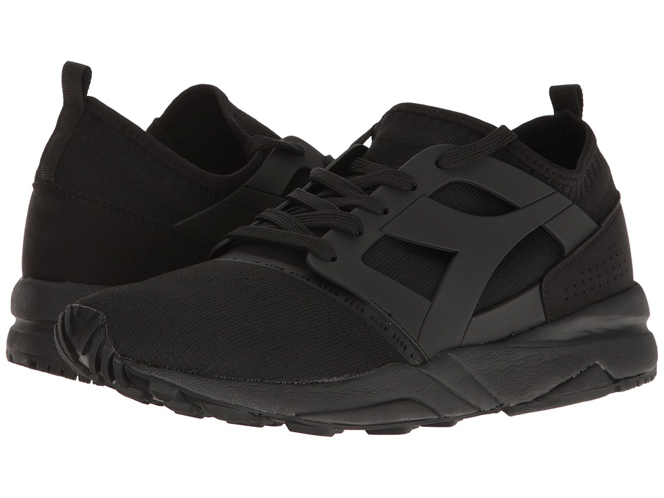Diadora - Evo Aeon (Black/Black) Athletic Shoes