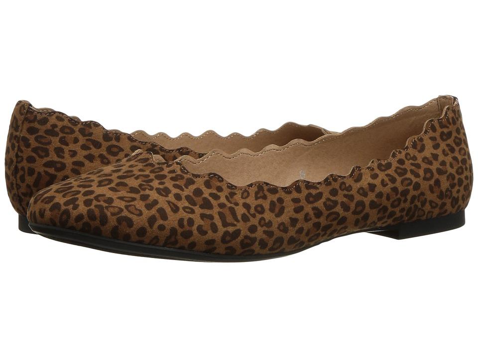Athena Alexander Toffy (Tan Leopard Fabric) Women