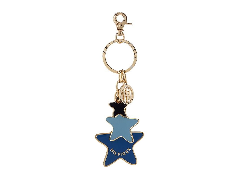Tommy Hilfiger - Star Key Fob (Bright Midnight) Wallet