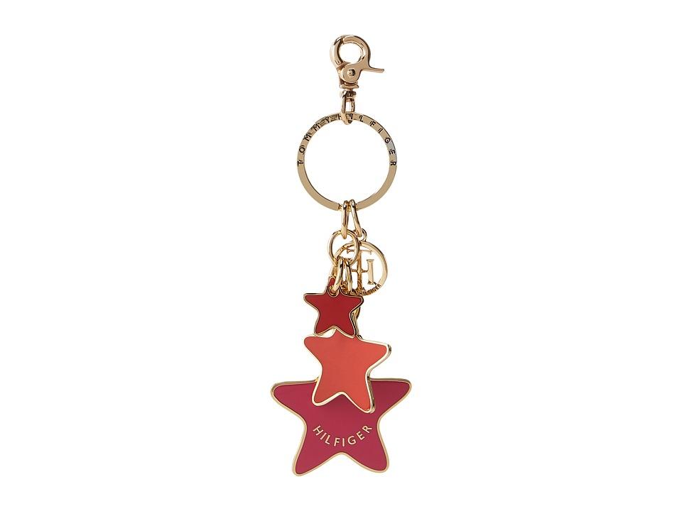 Tommy Hilfiger - Star Key Fob (Fuchsia) Wallet