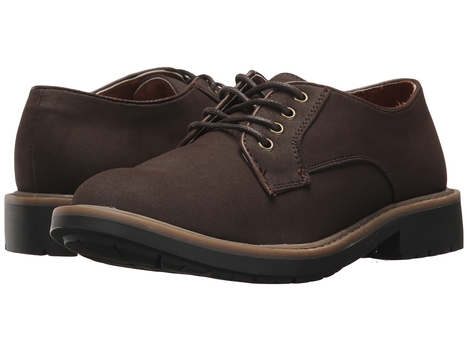 Kenneth Cole Reaction Kids - Take Buck (Little Kid/Big Kid) (Chocolate) Boy's Shoes