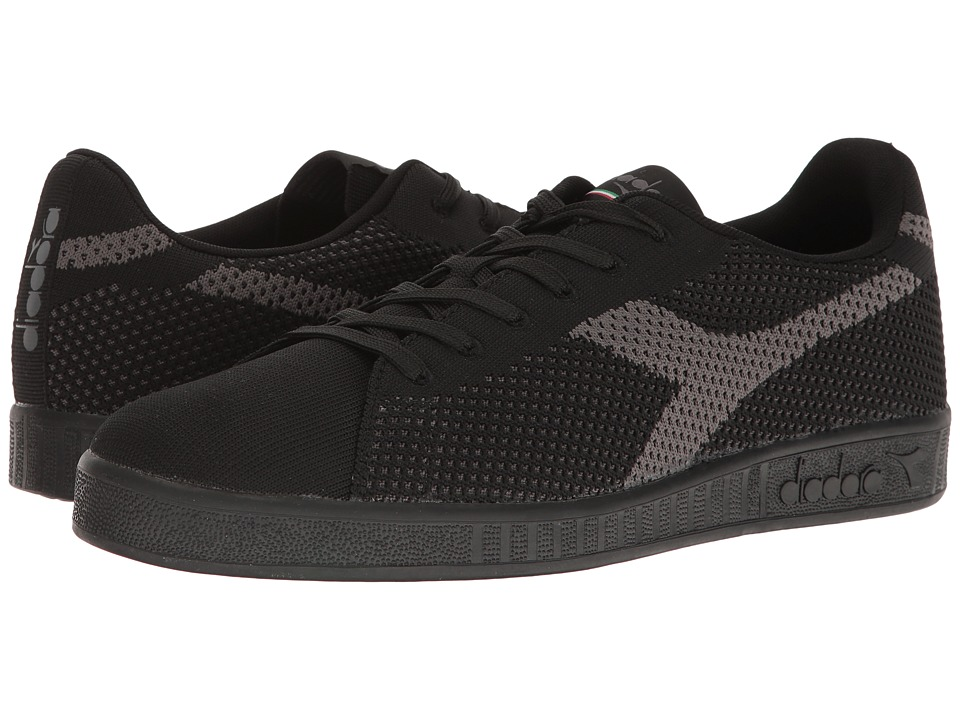 Diadora - Game Weave (Black/Black) Athletic Shoes