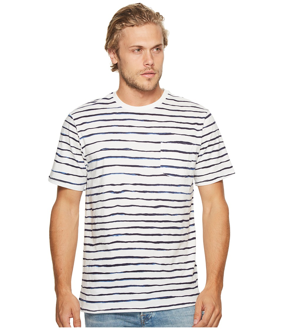 Threads 4 Thought - Standard Pocket Crew (River Stripe) Men's T Shirt