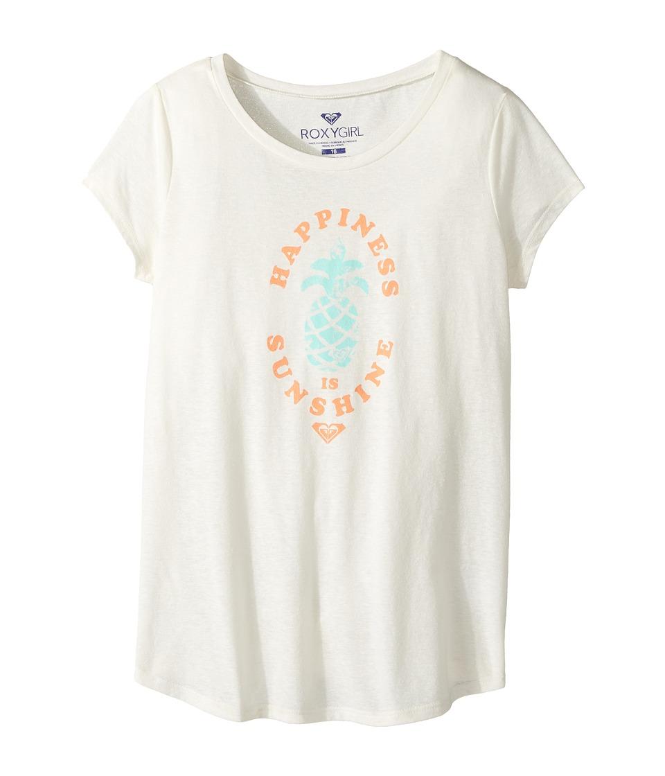 Roxy Kids - Happiness Sunshine Fashion Crew (Big Kids) (Sea Spray) Girl's Clothing