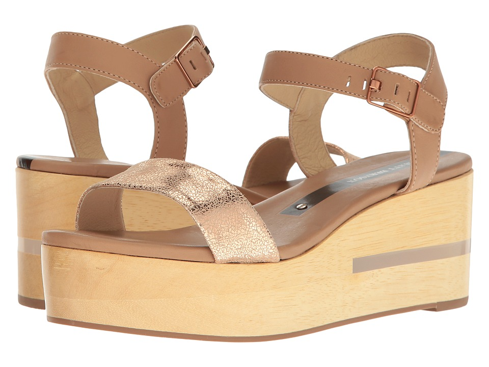 Matt Bernson - Dash (Wheat/Rose Gold) Women's Wedge Shoes