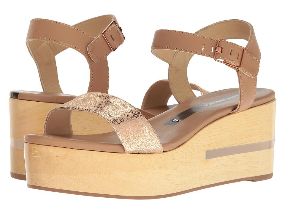 Matt Bernson - Dash (Wheat/Rose Gold) Women's Wedge Shoes