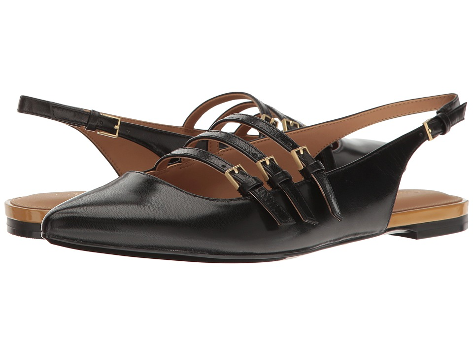 Calvin Klein - Genevieve (Black Leather) Women's Shoes