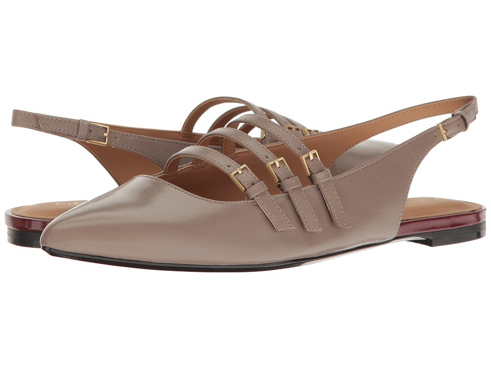 Calvin Klein - Genevieve (Winter Taupe Leather) Women's Shoes