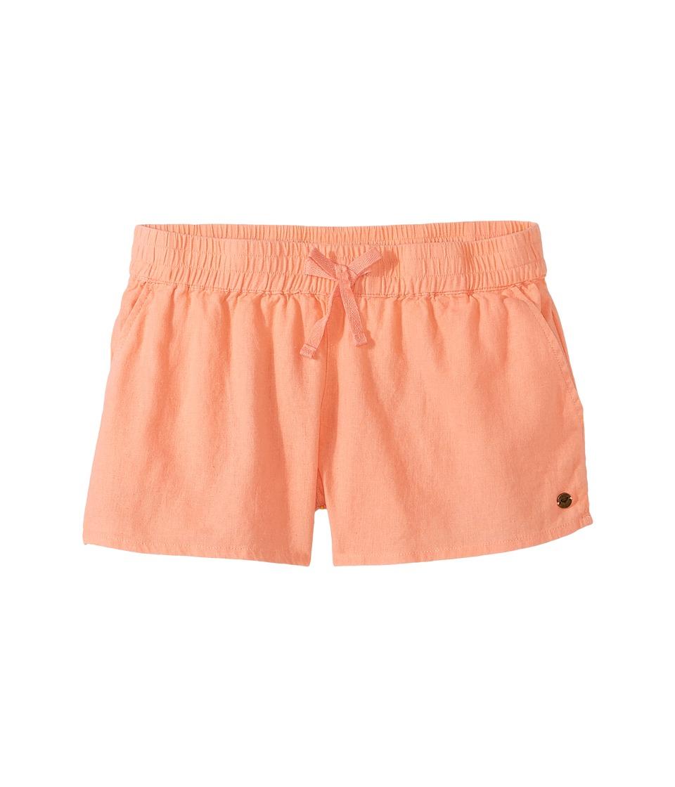 Roxy Kids - Color Into Eyes Shorts (Toddler/Little Kids/Big Kids) (Desert Flower) Girl's Shorts