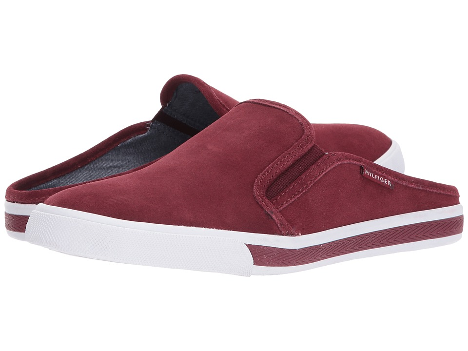 Tommy Hilfiger - Frank 8 (Burgundy Suede) Women's Shoes