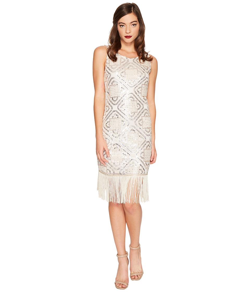 Unique Vintage - Flapper Dress (Champagne) Women's Dress