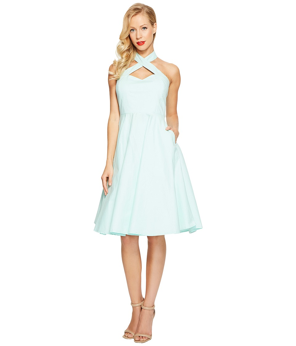 Unique Vintage Penelope Swing Dress (Mint) Women