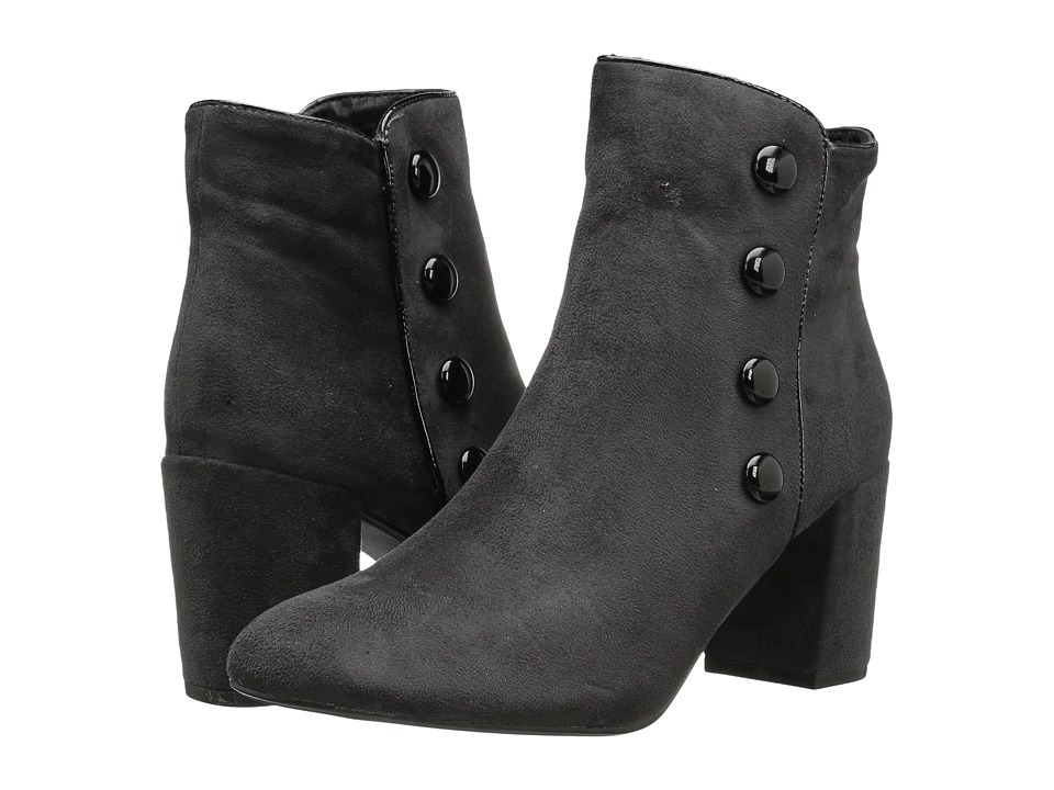 Image of Athena Alexander - Audrey Bootie (Grey Suede) Women's Dress Zip Boots