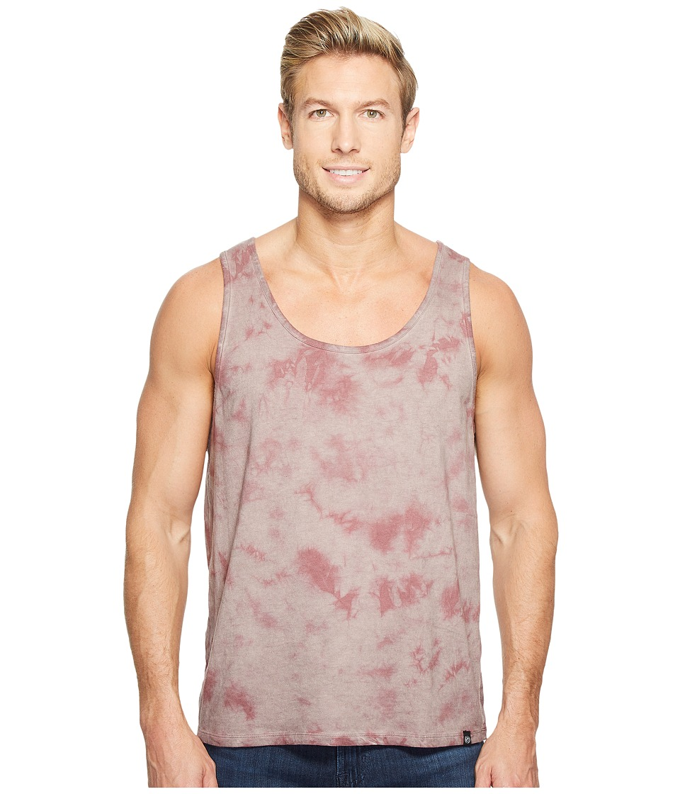 Threads 4 Thought - Cloud Wash Tie-Dye Tank Top (Twilight Mauve) Men's Sleeveless