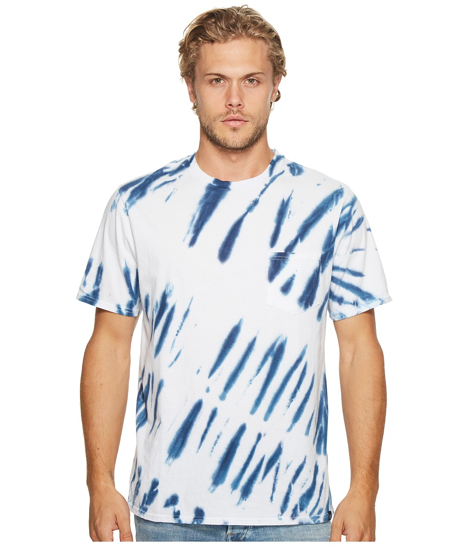 Threads 4 Thought - Shibori Pocket Crew Tee (Tie-Dye) Men's T Shirt