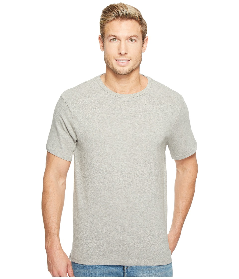 Threads 4 Thought - Banks Slub Crew Tee (Marled Grey) Men's T Shirt