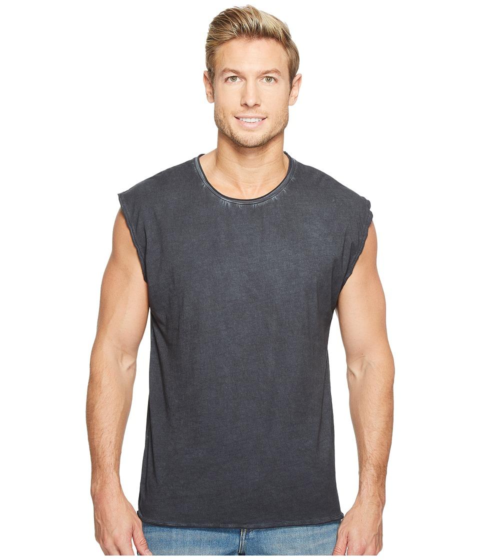Threads 4 Thought - Rainwash Jersey Bone Tank Top (Black) Men's Sleeveless