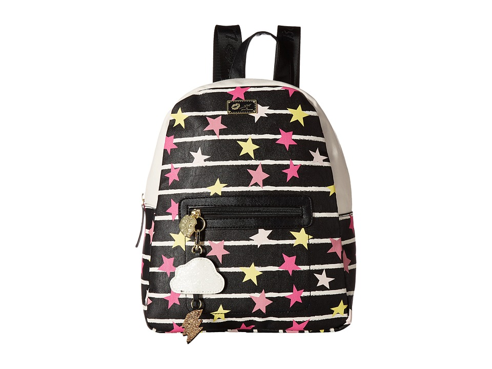 Luv Betsey - Demi PVC Backpack (Midnight) Backpack Bags