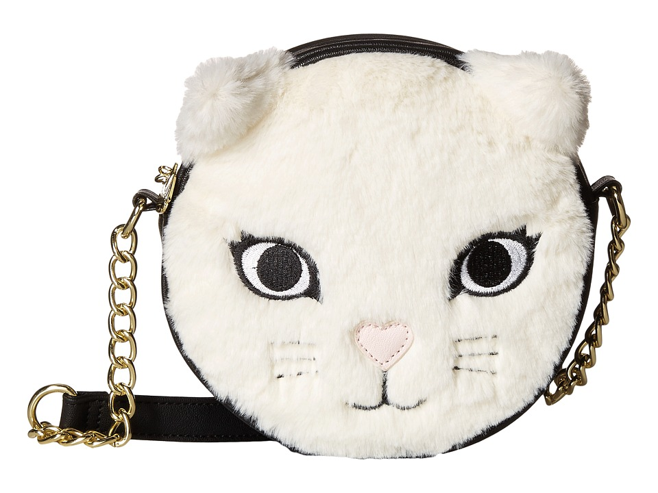Luv Betsey - Feline Kitch Canteen (Grey) Handbags
