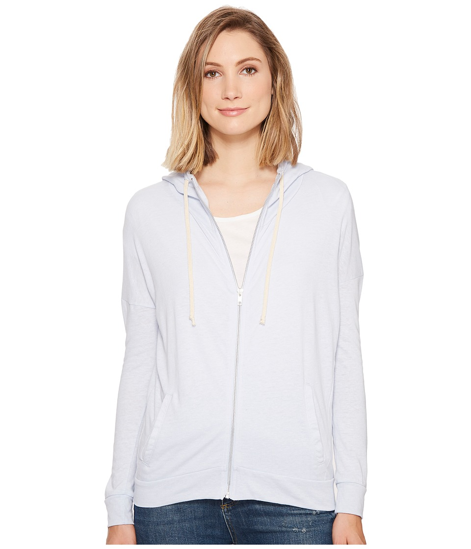 Alternative - Eco Jersey Cool Down Zip Hoodie (Eco Glacier Blue) Women's Sweatshirt