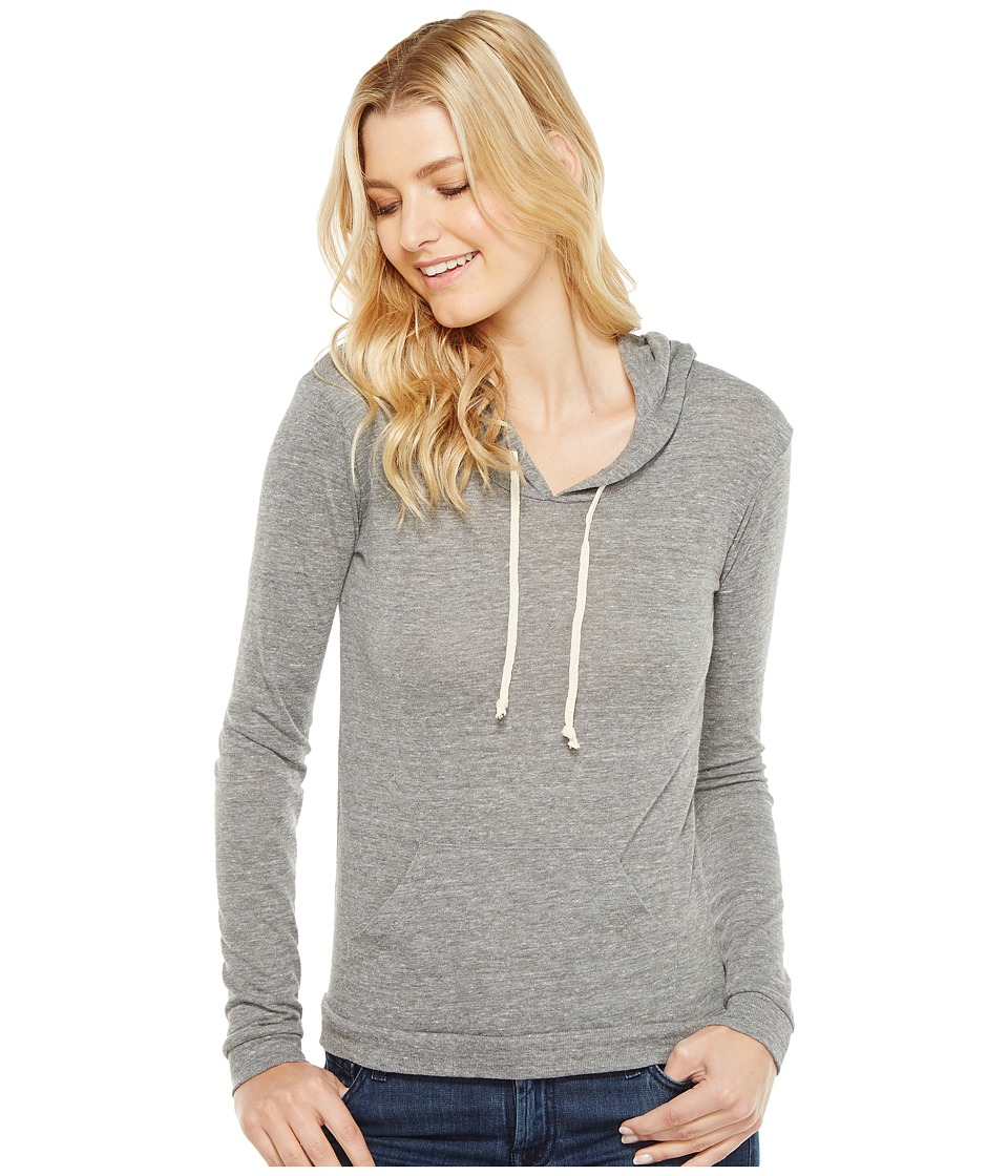 Alternative - Eco Jersey Classic Pullover Hoodie (Eco Grey) Women's Sweatshirt