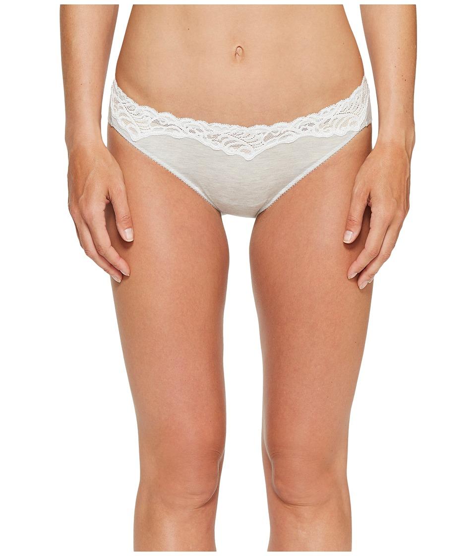 Natori - Essence Bikini (Feather Grey/Warm White) Women's Underwear