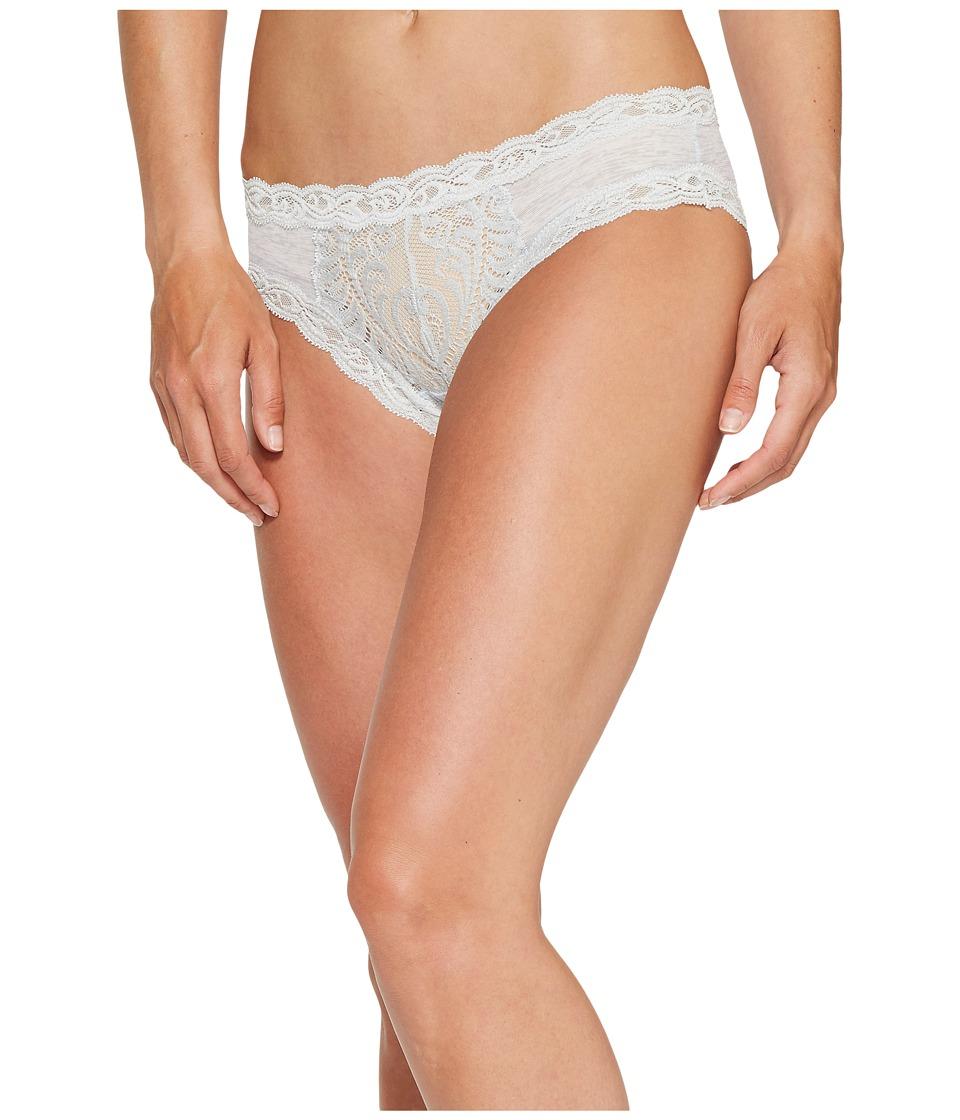 Natori - Feathers Hipster (Heather Grey) Women's Underwear