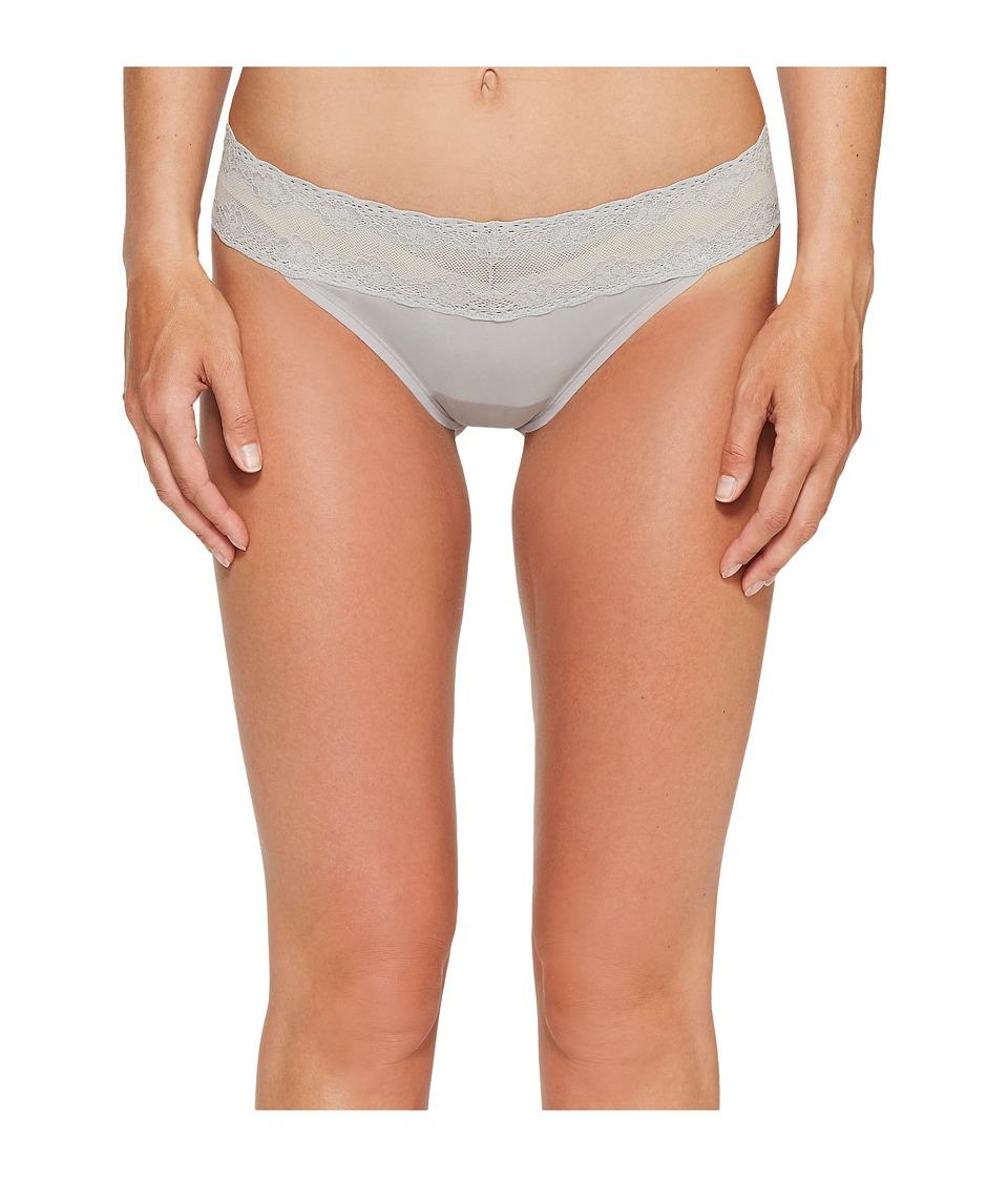 Natori - Bliss Perfection Thong (Grey) Women's Underwear