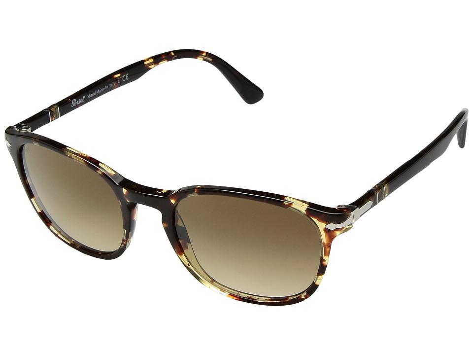 Persol - 0PO3148S (Tobacco Virginia/Clear Gradient Brown) Fashion Sunglasses