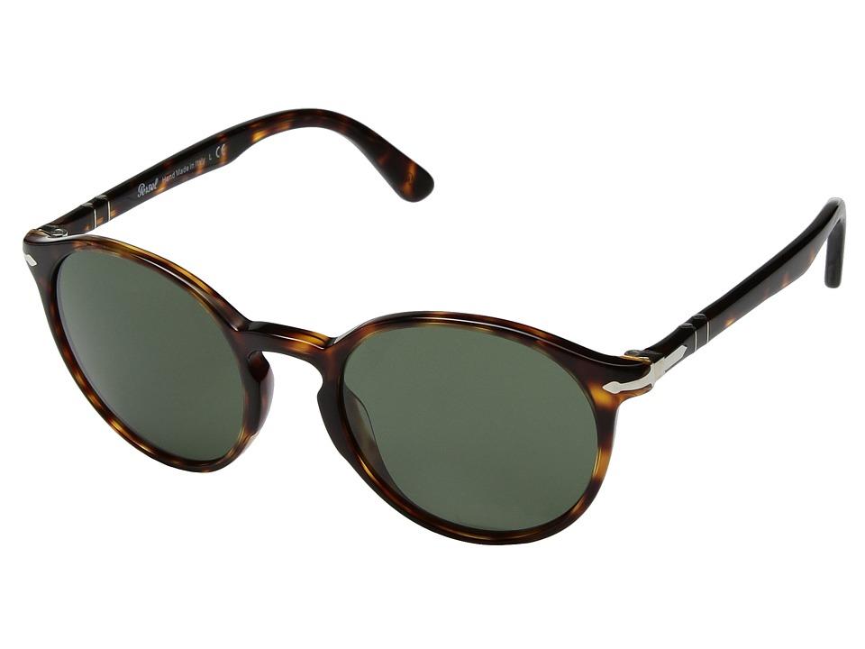 Persol - 0PO3171S (Havana/Green) Fashion Sunglasses