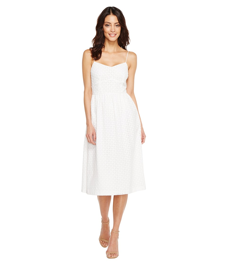 CeCe - Aurora - Sleeveless Eyelet (Ultra White) Women's Dress