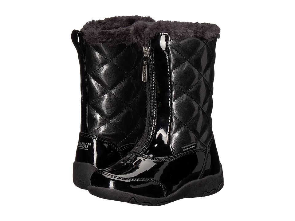 Khombu Kids Dacia (Toddler) (Black) Girls Shoes