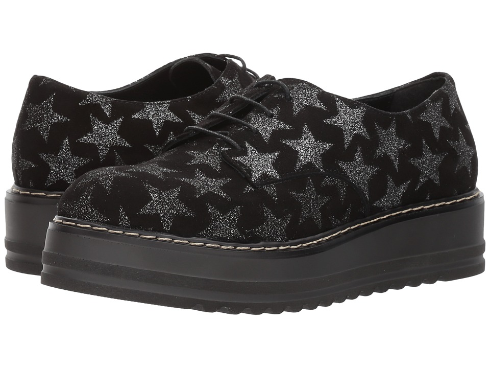 Summit by White Mountain Belinda (Black Starry Suede) Women