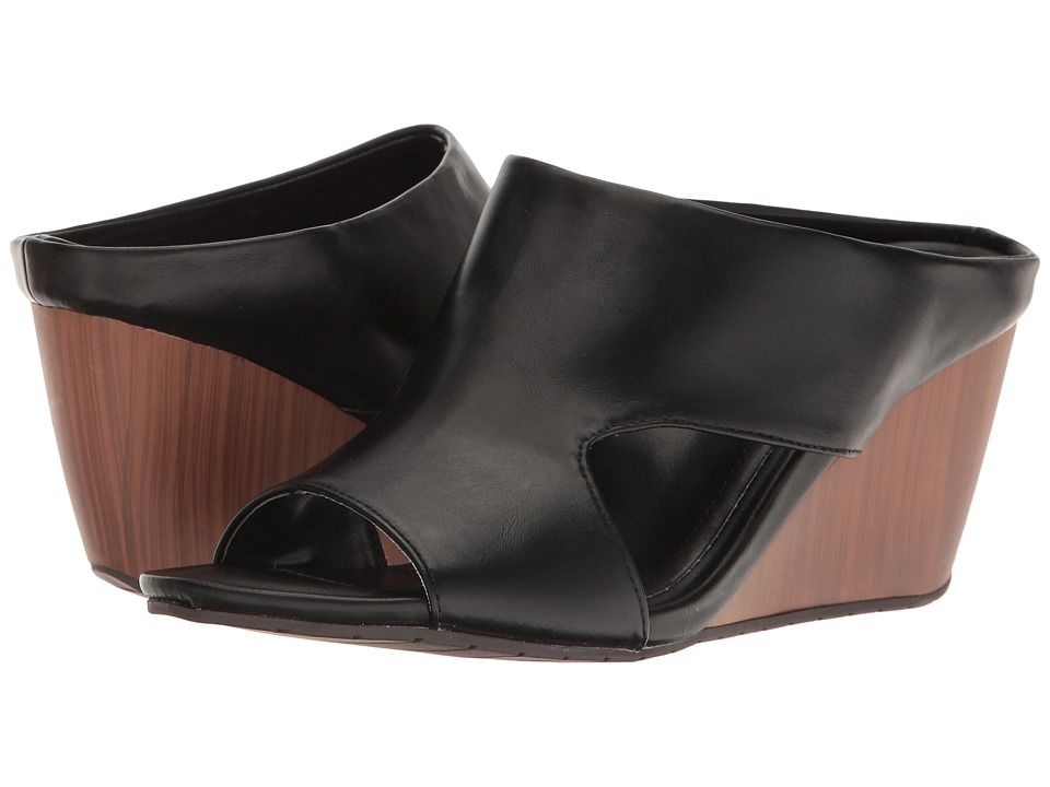 Kenneth Cole Reaction Make A Cane (Black Synthetic) Women