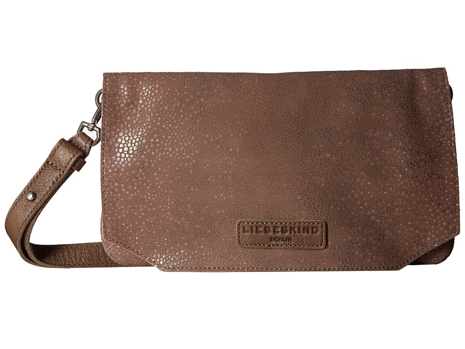 Liebeskind - Aloe F7 (Rhino Brown) Clutch Handbags