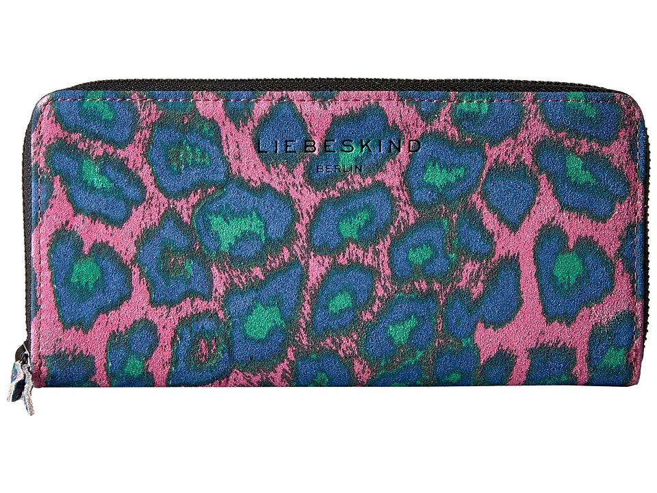 Liebeskind - Sally F7 (Fuchsia Pink Leo L) Wallet Handbags