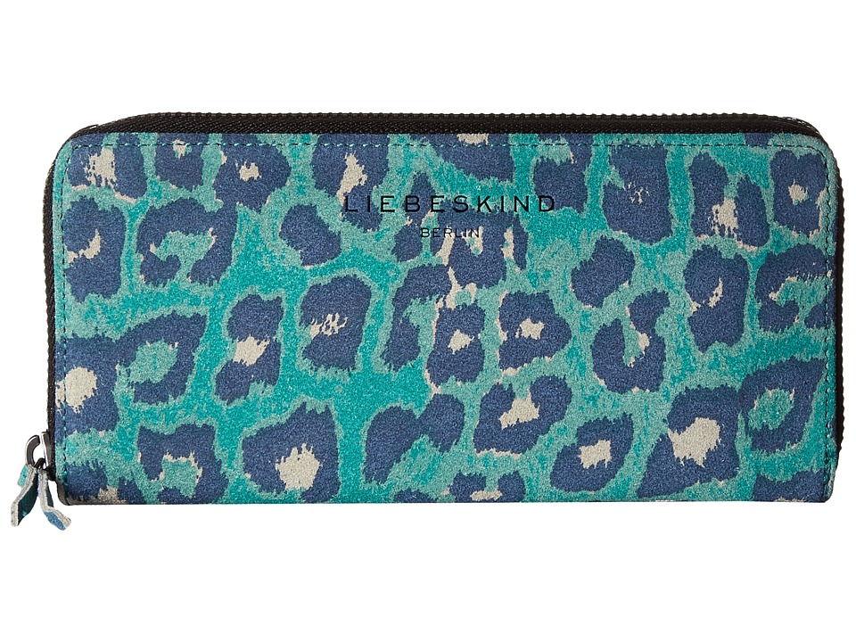 Liebeskind - Sally F7 (Orchid Green Leo L) Wallet Handbags