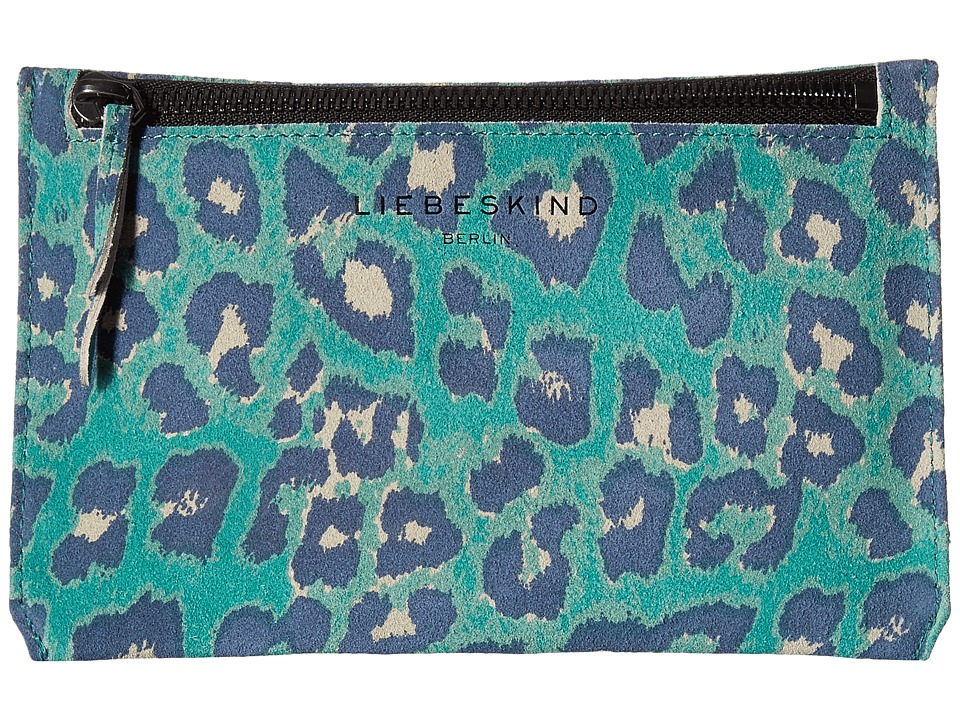 Liebeskind - Kiwi F7 (Orchid Green Leo L) Travel Pouch