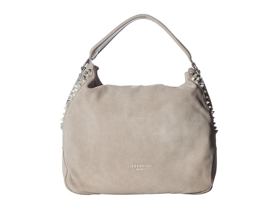 Liebeskind - Yokohama F7 (Hyena Grey) Hobo Handbags
