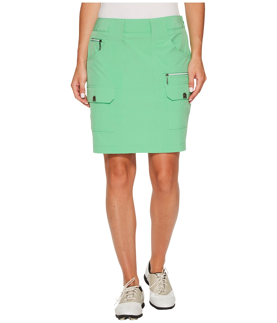 Jamie Sadock - Airwear Light Weight 18 in. Skort (Emerald) Women's Skort