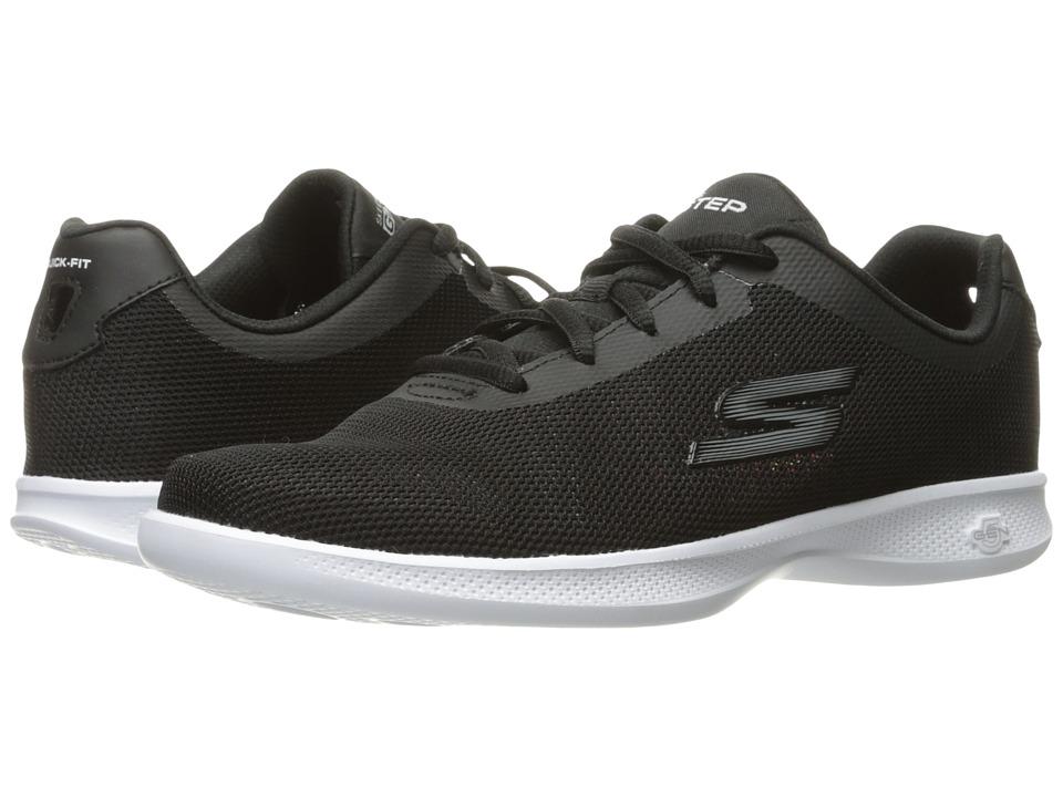 SKECHERS Performance - Go Step Lite - Endure (Black/White) Women's Shoes