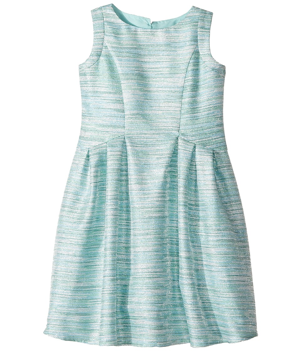 Us Angels - Sleeveless Cutaway Back with Box Pleat Skirt Dress (Toddler/Little Kids) (Green) Girl's Dress