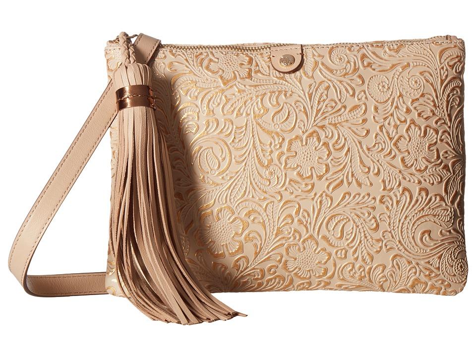 Tommy Bahama - Barbados Convertible Clutch Crossbody (Natural/Rose Gold) Cross Body Handbags