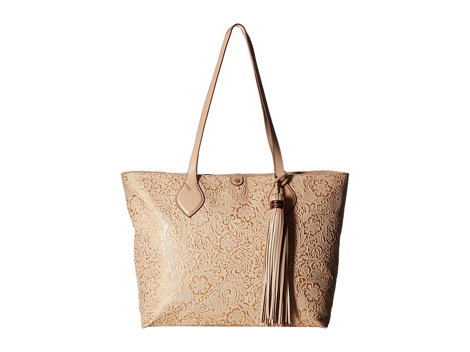 Tommy Bahama - Barbados Tote (Natural/Rose Gold) Tote Handbags