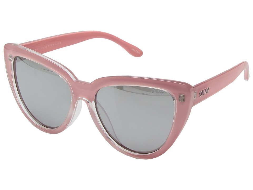 QUAY AUSTRALIA - Stray Cat (Peach/Silver) Fashion Sunglasses